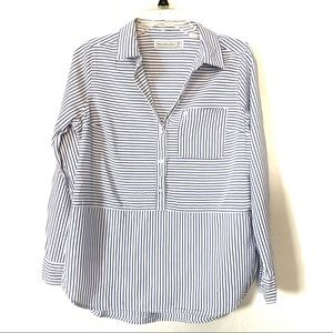 Abercrombie & Fitch casual striped tunic